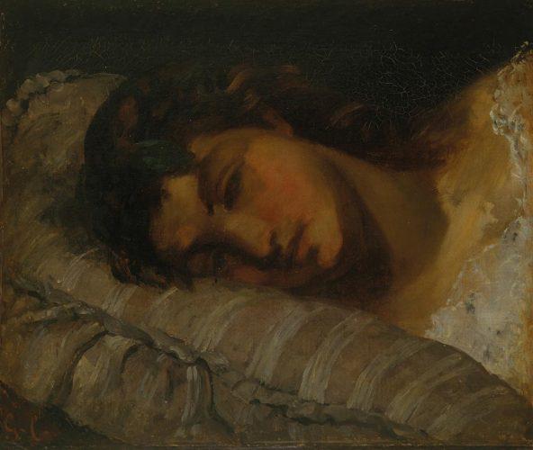Gustave-Courbet-tête-de-jeune-fille
