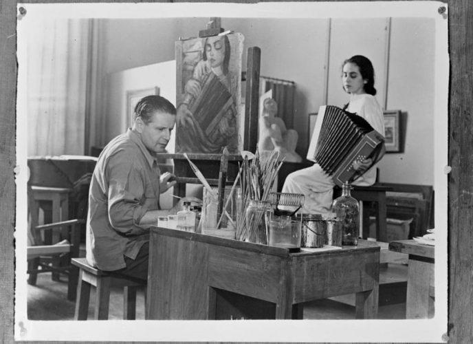 Rosenthal,-Le-peintre-et-son-modèle