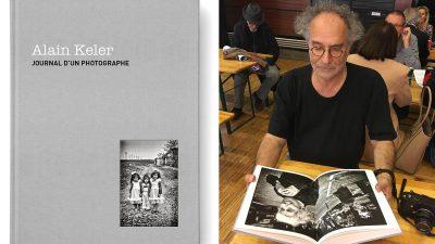 Première monographie d&rsquo;Alain Keler aux éditions de Juillet<br> Lecture de «Journal d&rsquo;un photographe»