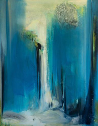 Bénédicte-PLUMEY---Grande-Source-Bleue---Rêve---huile-sur-toile---146x114cm---2018