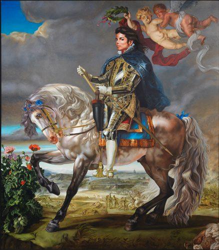 Equestrian-Portrait-of-King-Philip-II,-2009-Kehinde-Wiley
