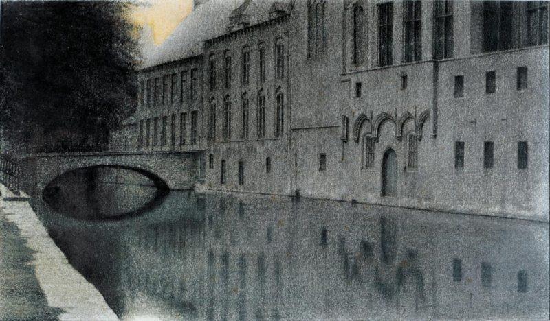 14.-Khnopff---Souvenir-de-Flandres