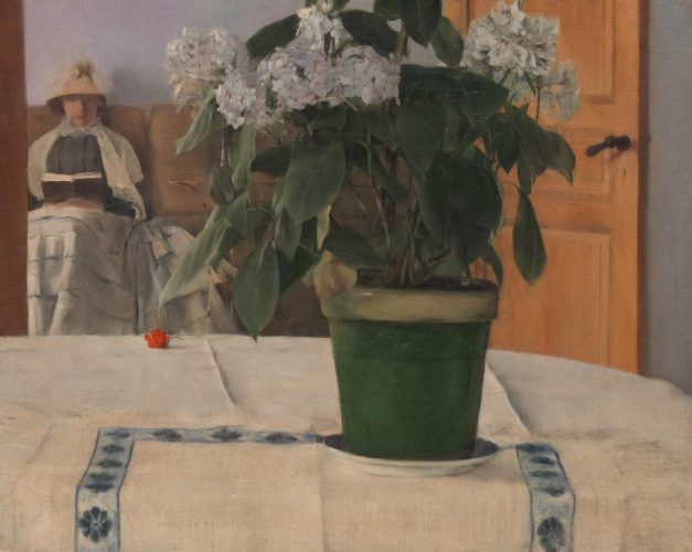 3.-Khnopff---Un-Hortensia,-Crédit-Photo-Metropolitan-Museum-of-Art