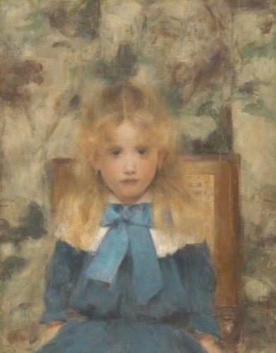 4.-Khnopff---Portrait-de-Mademoiselle-Van-der-Hecht,-Crédit-photo-J.-Geleyns-Art-Photography