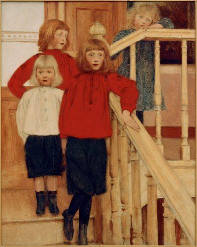 5.-Khnopff---Portrait-des-enfants-de-Monsieur-Nève,-Crédit-Photo-akg-images