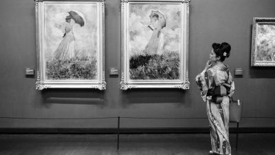 Gérard Uféras, un jour au musée