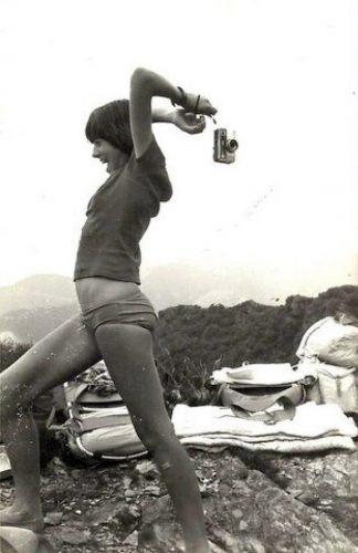 Marie Docher, été 1976