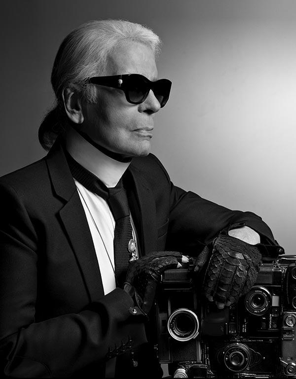 Né un 10 septembre : Karl Lagerfeld