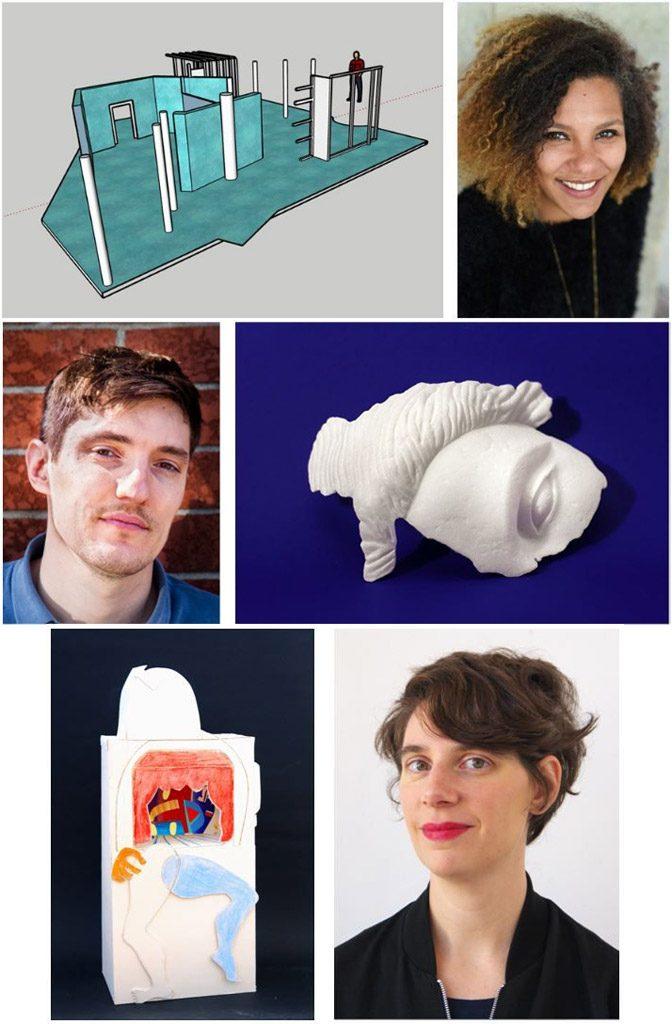 3 lauréats pour la 1ère édition du dispositif de soutien à la création artistique de la Ville de Paris et le Crédit Municipal
