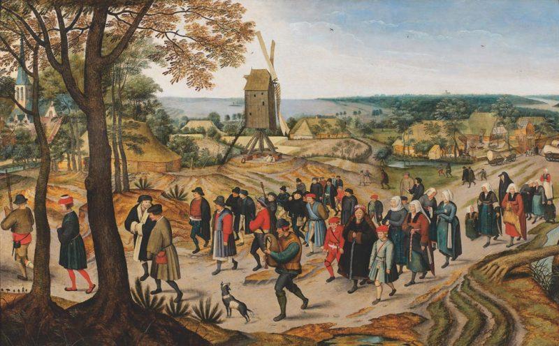 Pieter-Bruegel-II-Procession-GalerieDeJonkeere