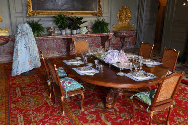 Champs.-La-salle-a-manger-du-chateau--de-Champs-sur-Marne-©Blondin---CMN