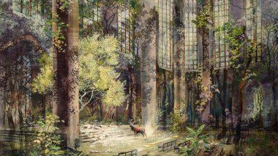 Carte blanche à Didier Bizet : La peinture d'Eric Roux-Fontaine