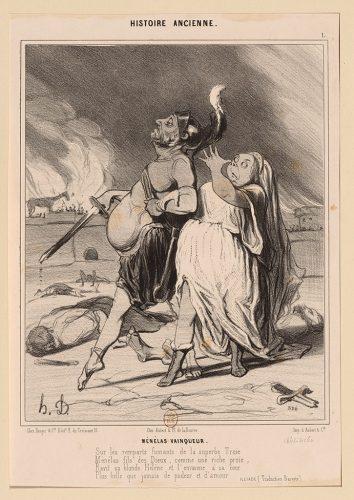 Daumier-Menelas-Vainqueur-Oe_280