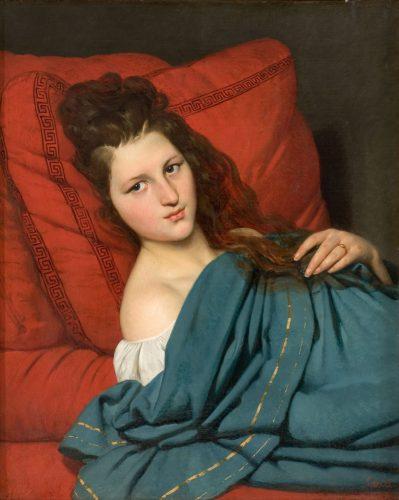 Désiré-Court,-Femme-à-mi-corps,-1829