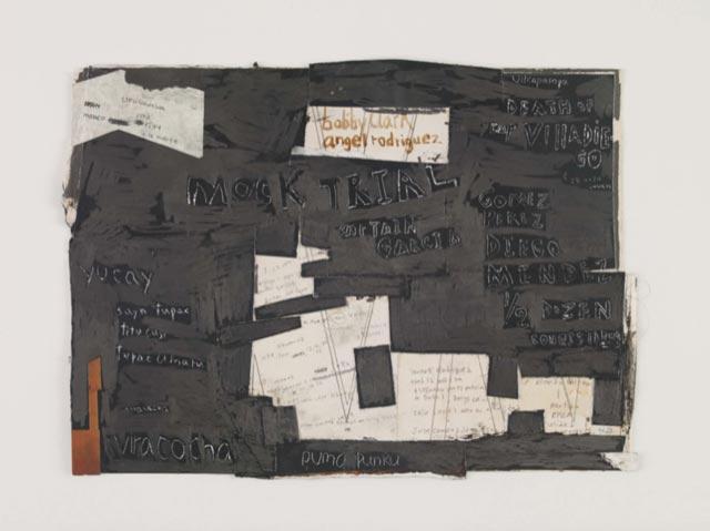 William-Cordova,-these-are-new-days,-thes-e-are-old-days,-2011-2013,-matériaux-divers-sur-papier,-20,95-x-28,25-cm-©-Sikkema-Jenkins-&-Co---courtoisie-de-l'artiste