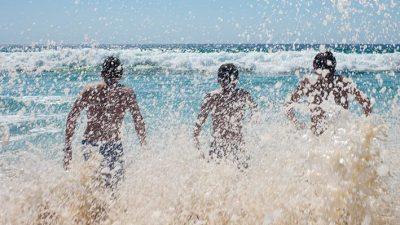 Rencontre avec la photographe Nathalie Seroux, Au bord de la mer