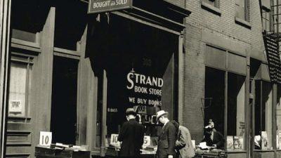 Carte blanche à Elodie Morel: La librairie Strand