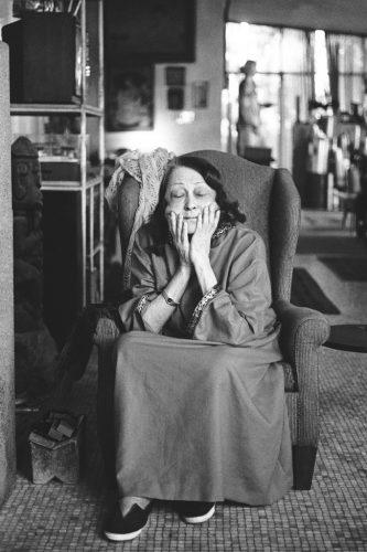 Portrait-Lina-Bo-Bardi,-from-the-project-Presence,-Juan-Esteves,-1991