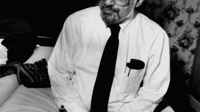 Carte blanche à Bernard Descamps : Allen Ginsberg