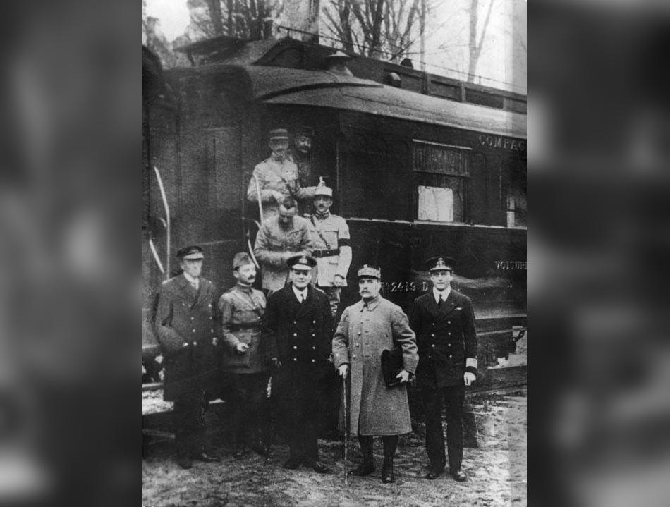 L'armistice du 11 novembre 1918