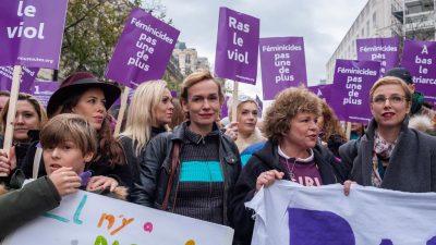 Virginie Merle a suivi la Marche contre les violences sexistes et sexuelles