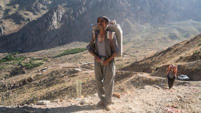 Les Kurdes d'Iran, un reportage de Loez