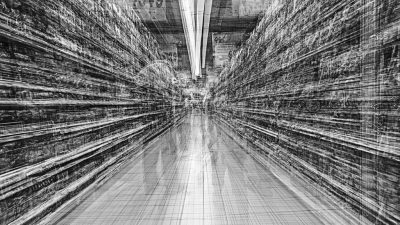 Le Supermarché des images: le versant obscur du visible au Jeu de Paume