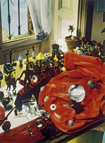 ©-Ouka-Leele_Galerie-VU_Como-una-bolita-de-cristal,-es-el-mundo,-como-una-bolita-de-mercurio',-1986