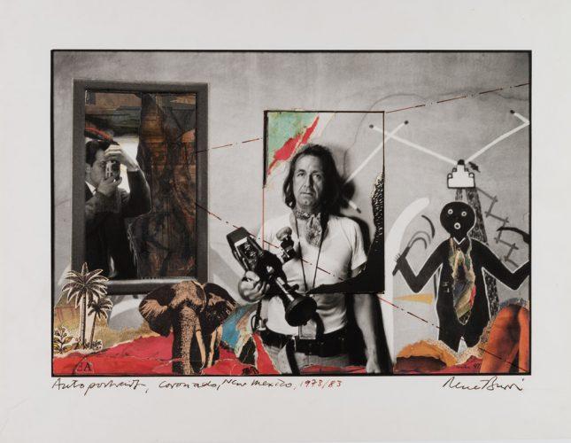 Rene-Burri_Autoportrait_Coronado_Nouveau-Mexique_1973_1983-(C)-Rene-Burri_Magnum-Photos_Fondation-Rene-Burri_Musee-Elysee