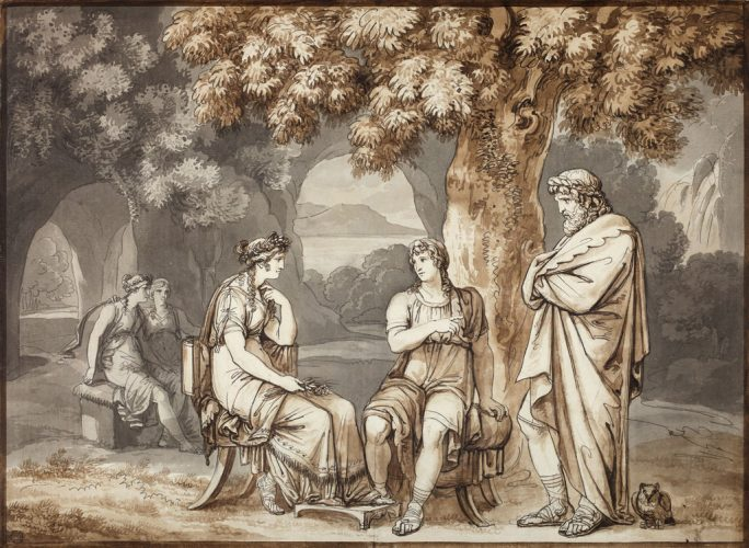 SDD-2020---BRADY---Bartolomeo-Pinelli-Telemachus-and-Mentor-relating-their-tales-to-Calypso