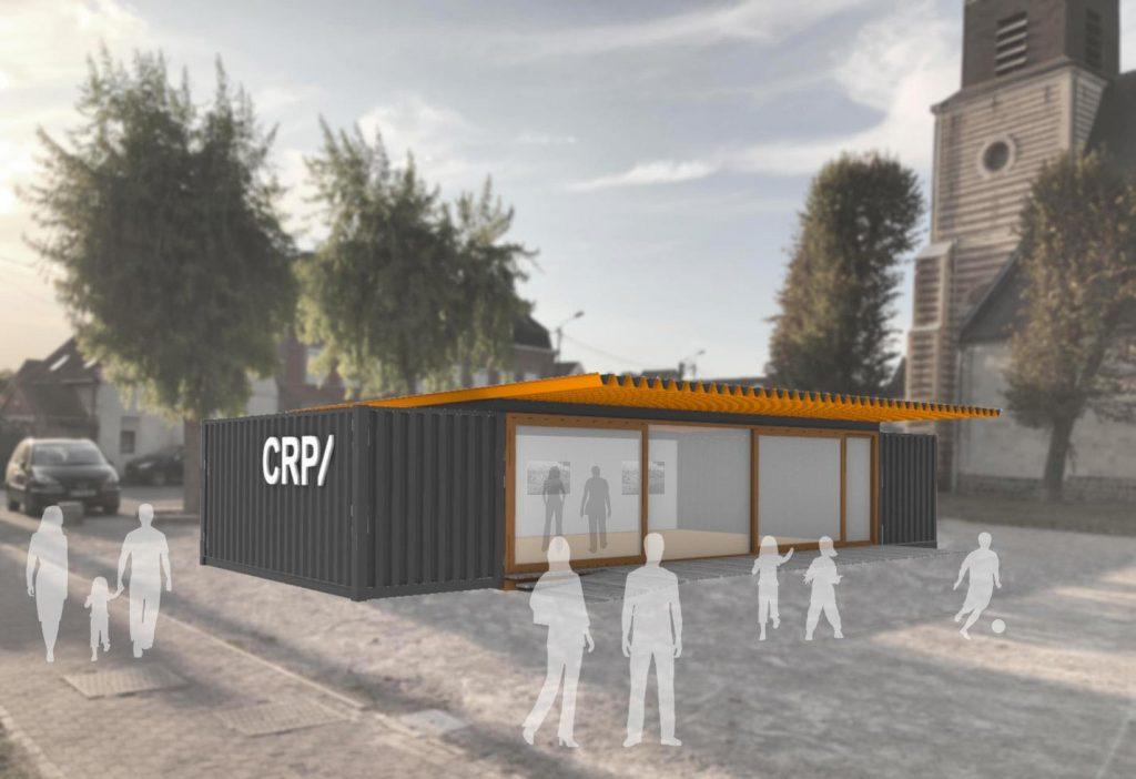 Inauguration de LaBOX, Une antenne pédagogique et culturelle du CRP/ de Douchy-les-Mines