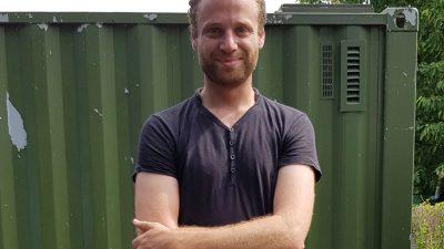Jean-Philipp Lucas et la zone de sensibilité artistique et solidaire à la ferme urbaine de Saint Denis