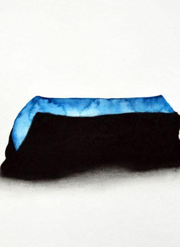 DDESSINCaroline-Le-Mehaute,-La-nd-XXXV,-2013,-aquarelle-et-pierre-noire-sur-papier,-30x40cm,-Courtesy-H-Gallery,-Paris