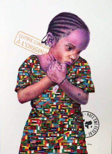 DDESSINEmmanuel-Azizeh,-Take-me-h-ome,-2018,-Stylo-bille-et-acrylique-sur-papier,-70-x-50-cm,-Courtesy-Galerie-Polysemie,-Marseille