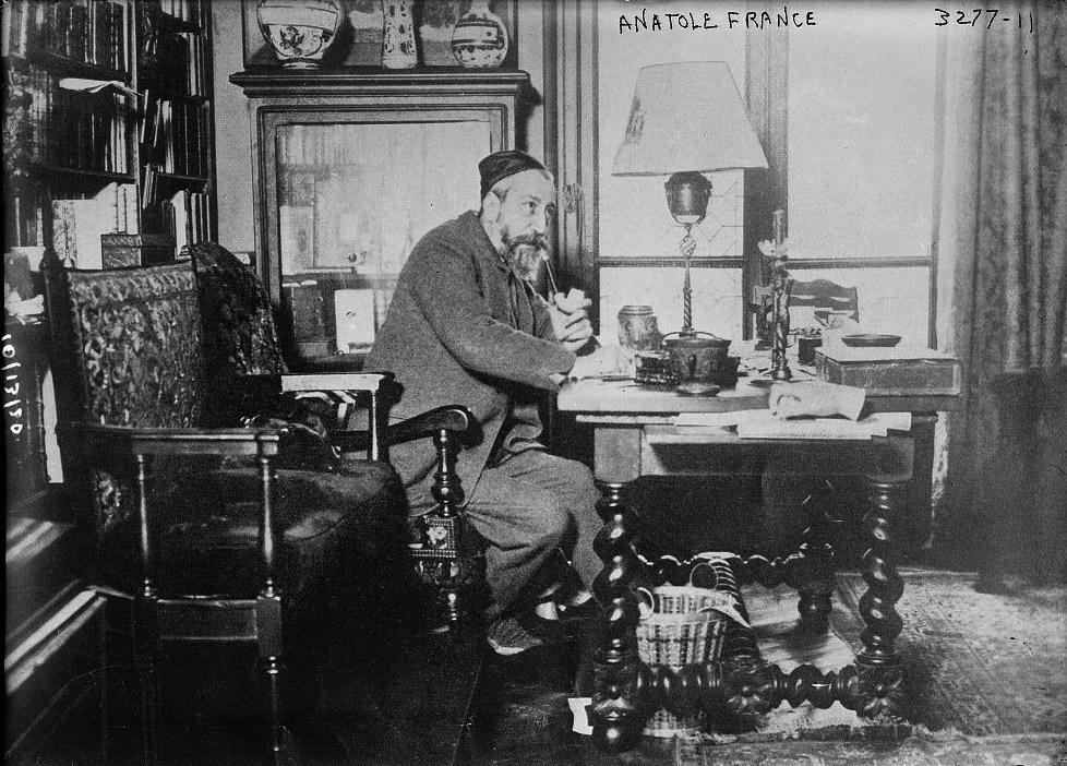 Ça s'est passé un 12 octobre : Mort d'Anatole France